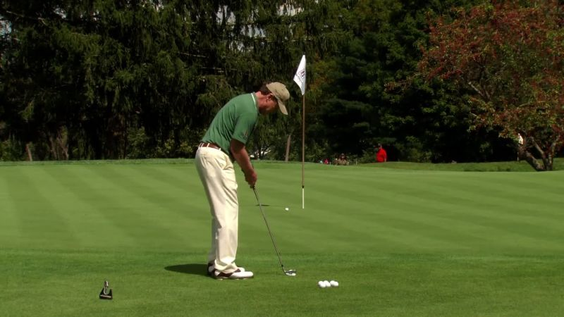 What's your go-to chipshot that amateurs can copy?