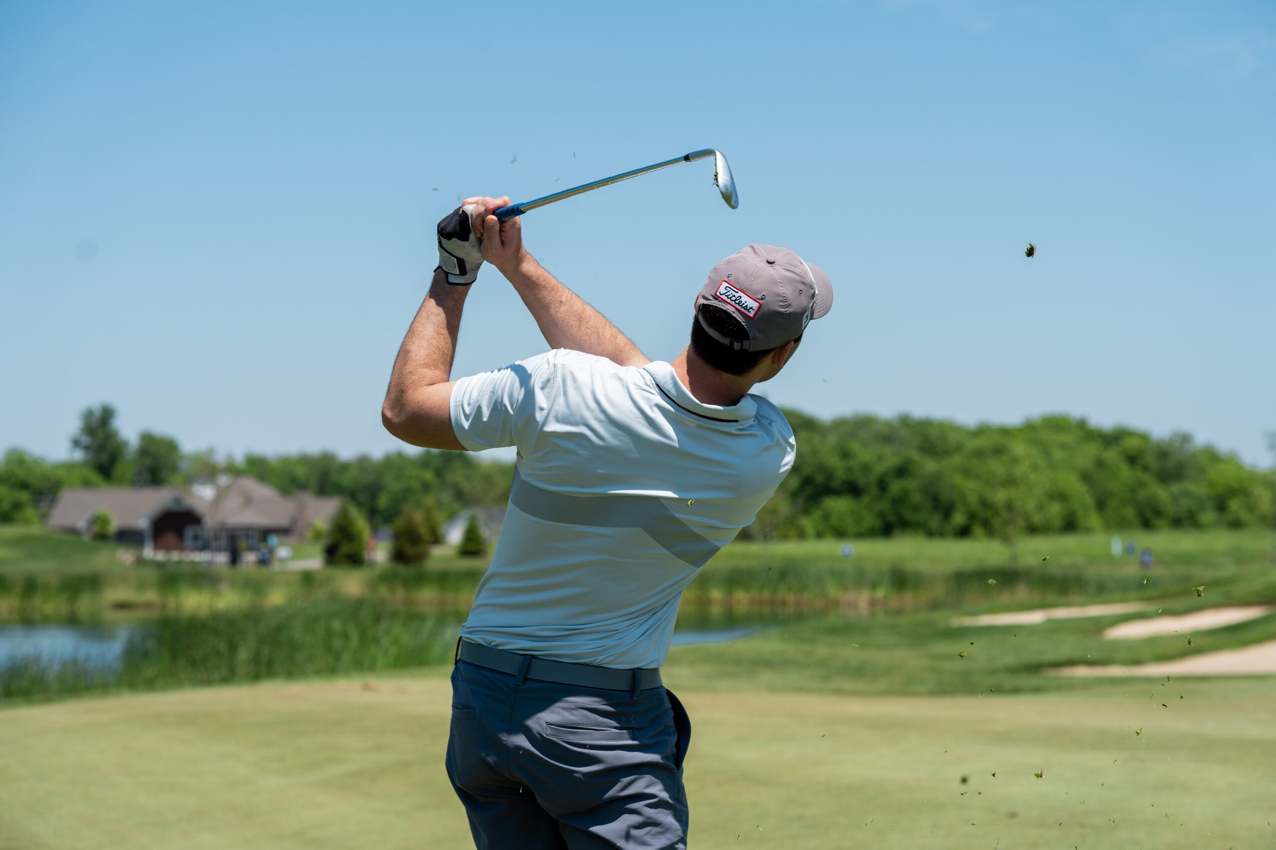 To dial in distance on wedge shots, should players focus more on swing length or swing speed?