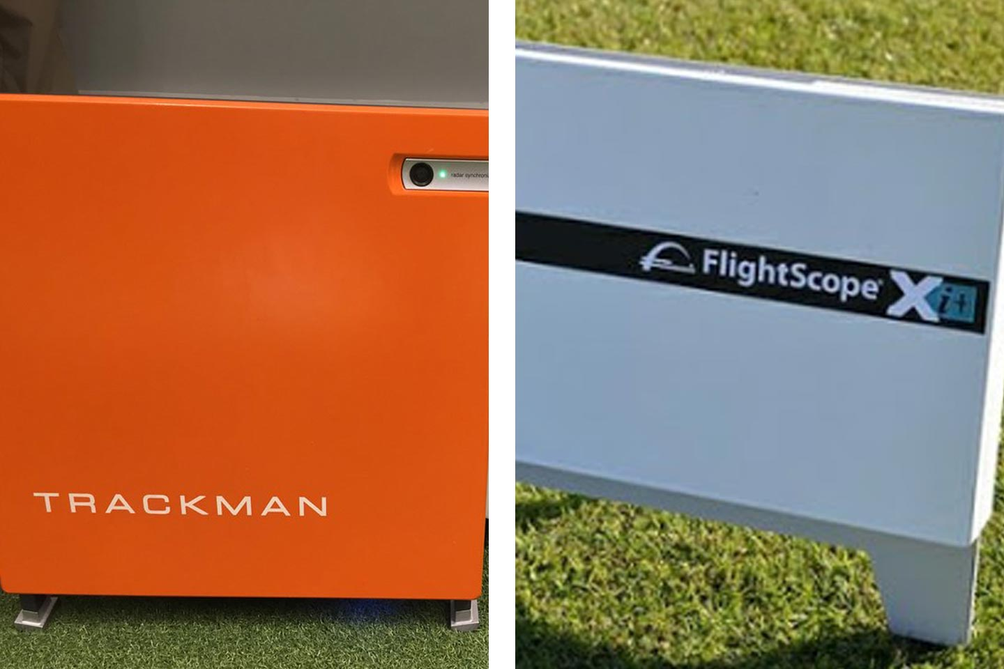 What is an alternative to using TrackMan or FlightScope?
