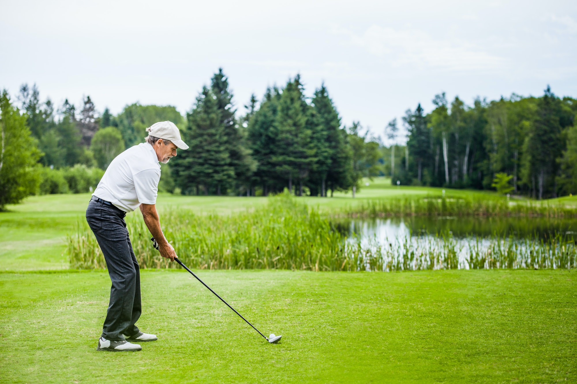 What is your best advice to overcome nerves on the first tee?