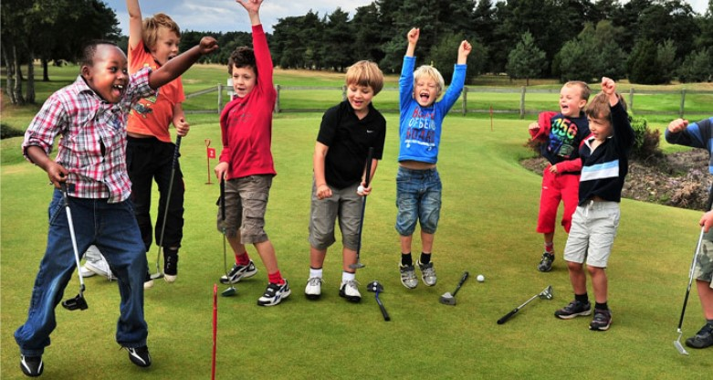 What's your ideal learning environment for junior golfers?
