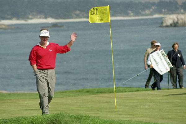 What advice do you have for players to improve their score while playing in windy conditions? Any drills to help?