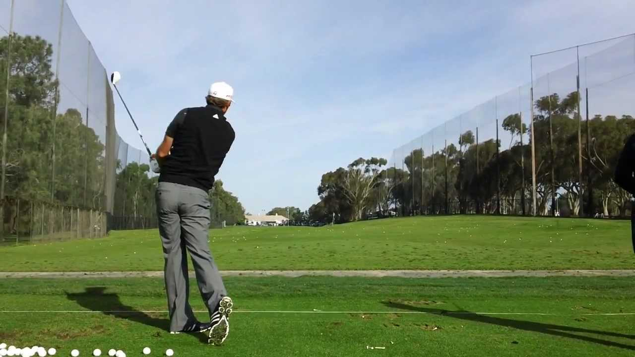 What are some ways for golfers to get the most effective practice in at the range?