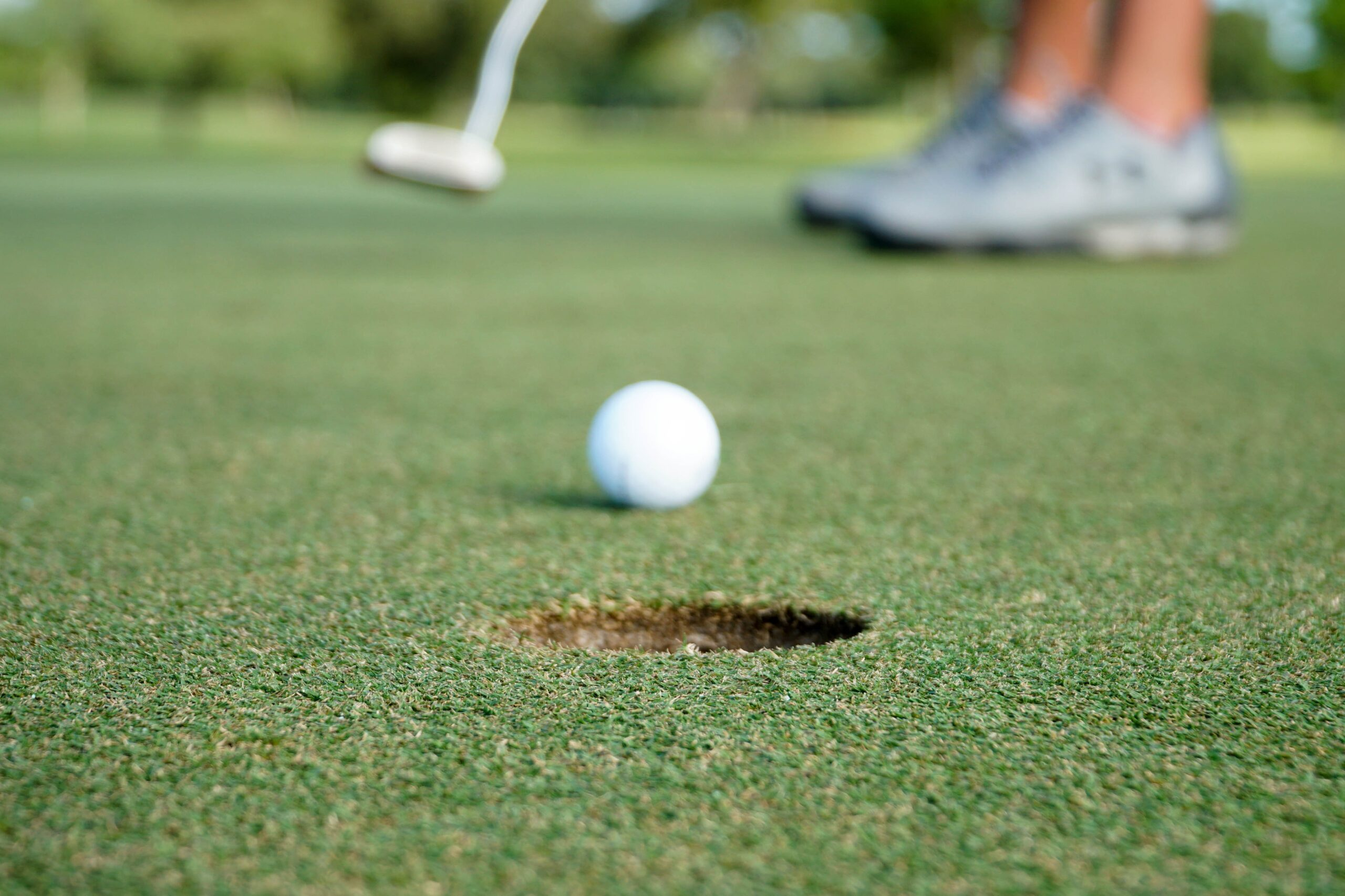 What's your favorite putting training aid?